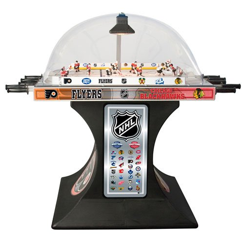 ICE Super Chexx Official NHL Bubble Hockey Table side.