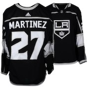 Alec Martinez Los Angeles Kings Fanatics Authentic Game-Used #27 Black Jersey from the 2017-18 NHL Season - Size 56