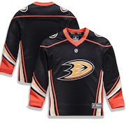 Anaheim Ducks Fanatics Branded Youth Home Replica Blank Jersey - Black
