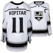 Anze Kopitar Los Angeles Kings Fanatics Authentic Game-Used #11 White Jersey with Captain's Patch from the 2018 NHL Playoffs - Size 58