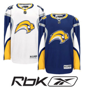 Buffalo Sabres RBK Edge Authentic Hockey Jersey- Sr