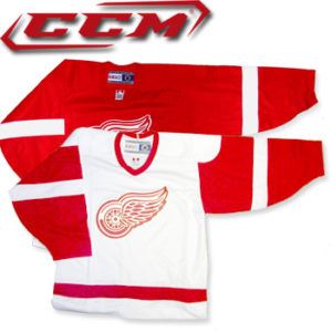 CCM 4100 Detroit Red Wings Jerseys-SR