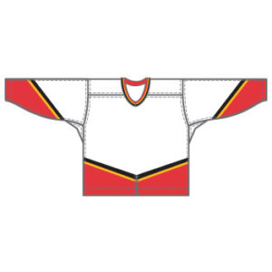 Calgary 15000 Gamewear Jersey (Uncrested) - White