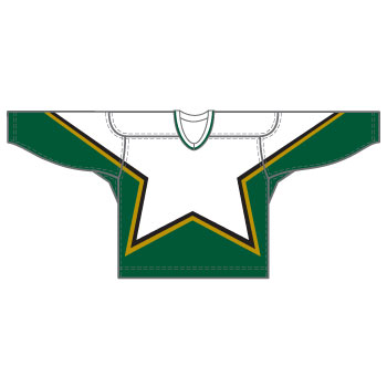 Dallas 15000 Gamewear Jersey (Uncrested) - White