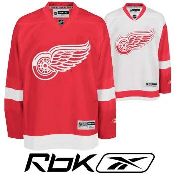 Detroit RedWings RBK Edge Authentic Hockey Jersey- Senior