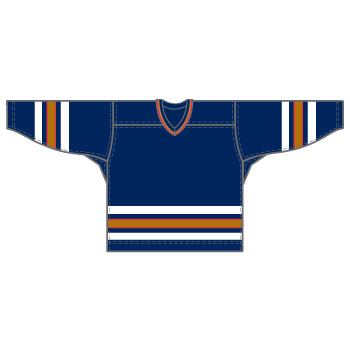 Edmonton 15000 Gamewear Jersey (Uncrested) - Team Color