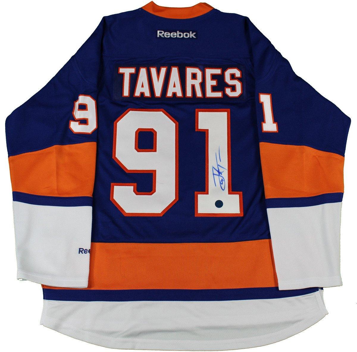 the best attitude c5695 d37f3 John Tavares Signed New York Islanders Reebok Premier Hockey Jersey (AJ  Sports Auth)