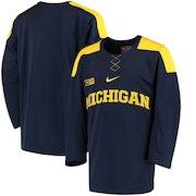 Michigan Wolverines Nike Replica Hockey Jersey - Navy