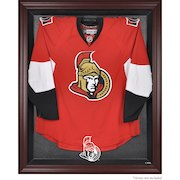 Ottawa Senators Mahogany Framed Jersey Display Case