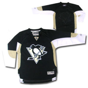 OuterStuff Premier Blank Pittsburgh Penguins Jersey- Junior