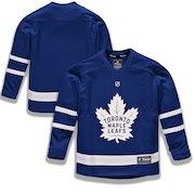 Toronto Maple Leafs Fanatics Branded Youth Home Replica Blank Jersey - Blue