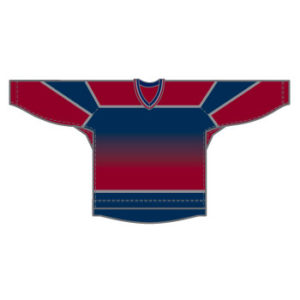 Vancouver 15000 Gamewear Jersey (Uncrested) - Third