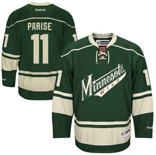 cozy fresh 525aa 8bcdc Zach Parise Green Minnesota Wild Jersey Unsigned