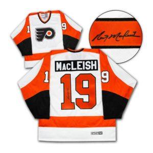 Rick MacLeish Signed Jersey - Philidelphia Retro CCM