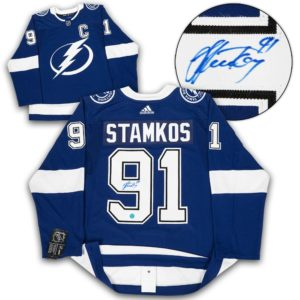 Steven Stamkos Signed Jersey - Adidas