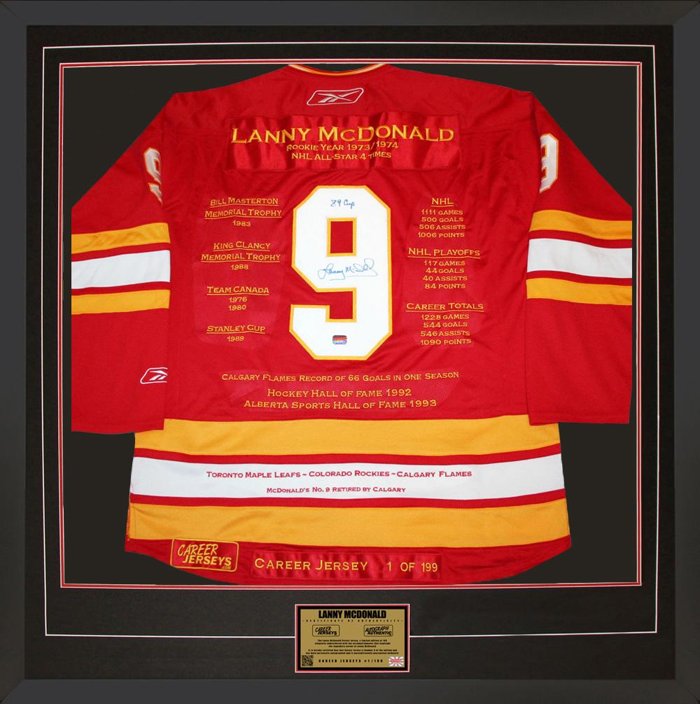 Lanny McDonald Signed Jersey - Career #1 of 199