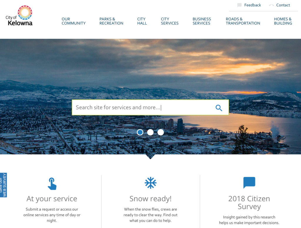 Official Government Website of Kelowna, British Columbia, Canada