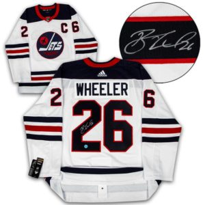 Signed Blake Wheeler Jersey - Heritage Adidas