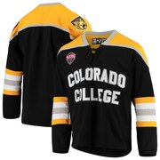 86d43db7f Colorado College Tigers Replica Hockey Jersey - Black · The World Table  Hockey Association