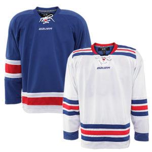 BAUER 800 Series NYR Gamewear Jersey- Yth