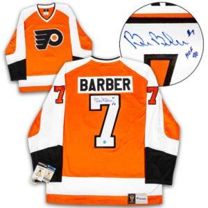 Signed Bill Barber Jersey - Fanatics Vintage