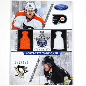 2012-13 Certified Evgeni Malkin Sean Couturier Path To The Cup Dual Jersey /250