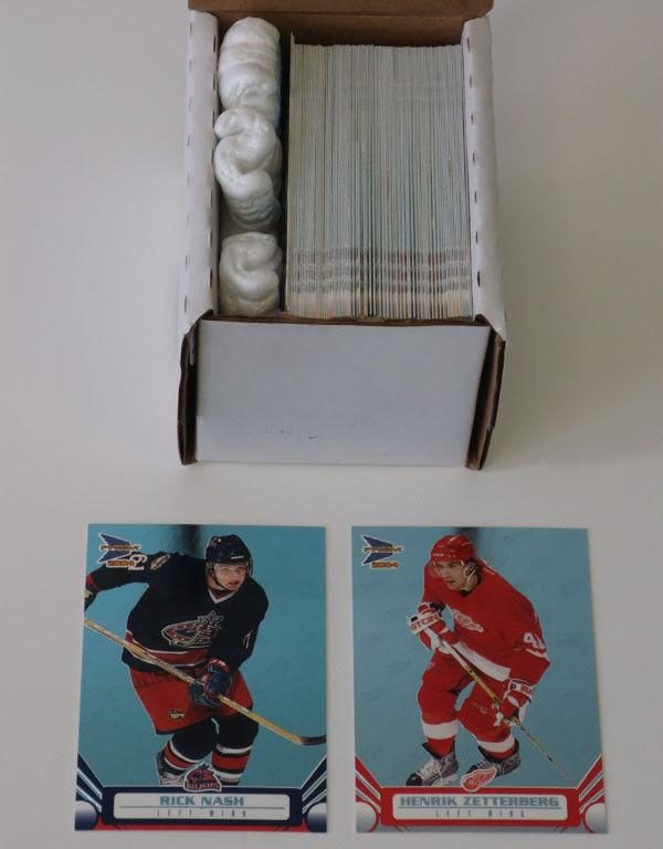 2003-04 Pacific Prism Hockey Set W/O Jerseys (1-100) Nash Zetterberg
