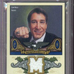 2011-12 Upper Deck Goodwin Champions Can Neely Jersey NHL Graded Card MINT PSA 9