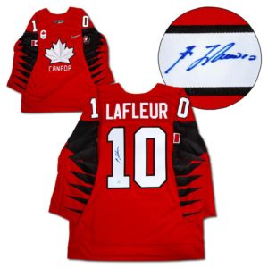 Signed Guy Lafleur Jersey - Team Canada Nike