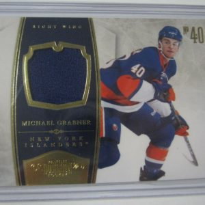 2010-11 Panini Dominion #62 MICHAEL GRABNER Game Used Jersey Card #d 29/99