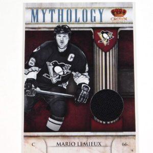 2011-12 Crown Royale Mario Lemieux Mythology #66 Penguins Jersey