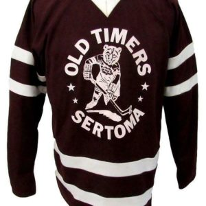 Hershey Bears Old Timers Sertoma Brown #24 Hockey Jersey Unsigned Size XL 144260