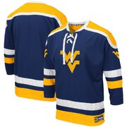 West Virginia Mountaineers Colosseum Mr. Plow Hockey Jersey Sweater - Navy