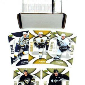 2006-07 UD Mini Jersey Collection Hockey Set (130) Nm/Mt Letang Malkin RCs