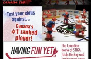 Poster for Stiga Canada Cup 2019