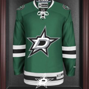 Dallas Stars Mahogany Jersey Display Case