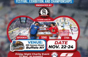 Poster advertising Buffalo's Table Hockey Festival, 22-24 November 2019