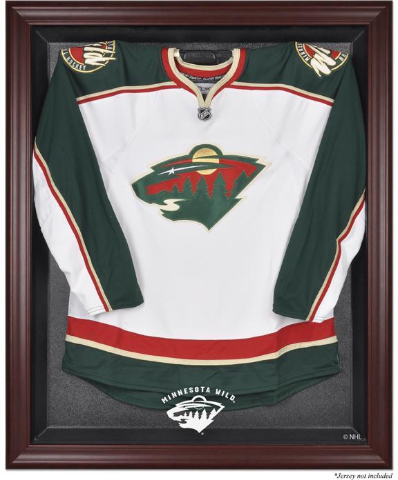 Minnesota Wild Mahogany Jersey Display Case