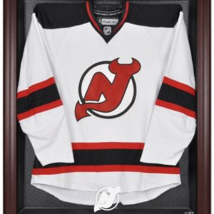New Jersey Devils Mahogany Jersey Display Case