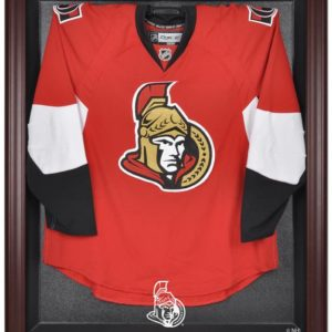 Ottawa Senators Mahogany Jersey Display Case