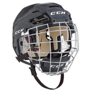 CCM Resistance-Tacks 110 Hockey Helmet Combo - Sr
