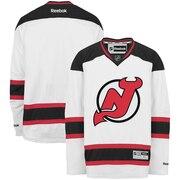 Reebok New Jersey Devils White Premier Hockey Jersey