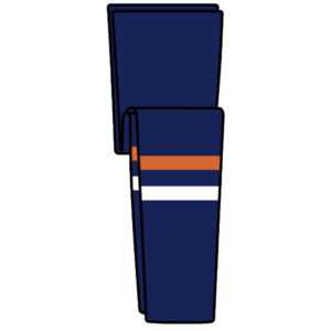 KOBE 9800 Knitted NY Islanders Hockey Socks- Sr