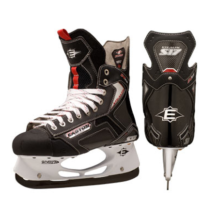 Easton Stealth S17 Black Hockey Skates- Jr