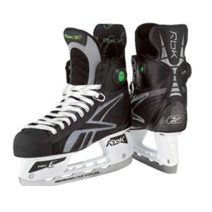 RBK 9K Pump Hockey Skates ('08-'09)- Junior