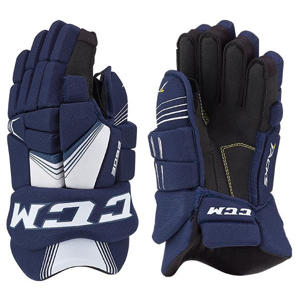 CCM 3092 Tacks Hockey Gloves- Jr
