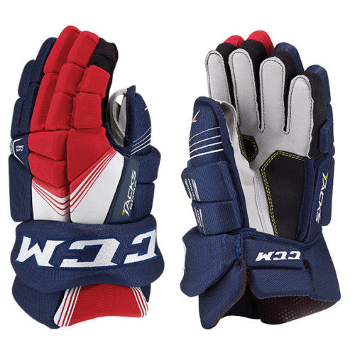 CCM 5092 Tacks Hockey Gloves- Jr