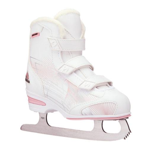 JACKSON Softec Tri-Grip White Skates - Yth