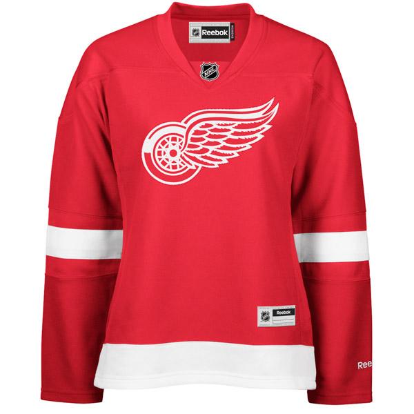 REEBOK 7214 Center Ice Premier Women's NHL Jersey- Detroit