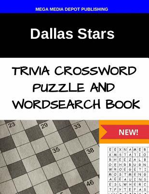 Dallas Stars Trivia Crossword Puzzle and Word Search Book